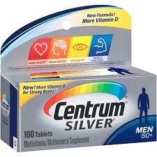 Centrum Silver Men's 50+ Tablets 100 Tablets