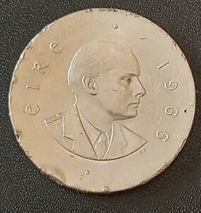 1966 10 Shillings Pádraig Pearse Coin/ 1916 Easter Rising Commemorative Coin