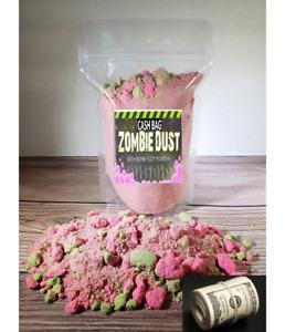 NEW Cash Bag Zombie Brains $2 TO $100 IN SIDE Bath Bomb Powder, Bath Fizz,