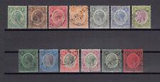 BRITISH HONDURAS 1922 SG 124/37 USED Cat £500