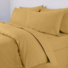 100% Egyptian Cotton 300 Thread Count Duvet Quilt Cover & Pillow Case All Sizes