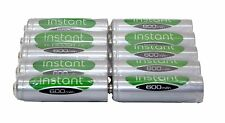 10 x aa 1.2V 600mAh nimh rechargeable batteries jardin solaire lampes lsd instance