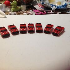 VINTAGE 7 PIECE HO SCALE RED BF GOODYEAR PICK UP TRUCK BODY GROUP / 1971-001!!!!
