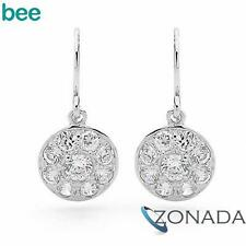 Classic Round Simulated Diamond 925 Sterling Silver Studs Earrings 35352/*