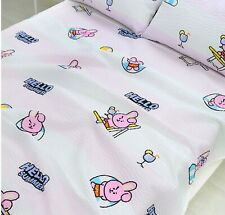 BTS Character BT21 Ripple Blanket Bedding Summer Edition157x185cm COOKY Jungkook