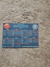 2015 New York City FC (MLS inaugural season) official team magnet schedule