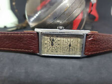 RARE VINTAGE DOCTOR WATCH SUB SECOND SILVER DIAL MANUAL WIND MAN'S