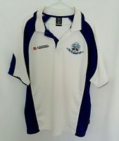 Palmyra Rugby Club 75th Anniversary 1934 2009 White And Blue Polo Shirt Size XXL