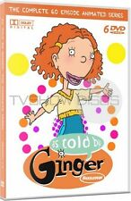 As Told By Ginger Complete Animated Cartoon TV Series DVD Set