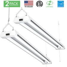 Sunco 2 Pack Shop Light Utility Led 40W (260W) 4 Ft 5000K (Daylight) Frstd