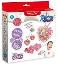 Girls Diy Pearl Arts Craft Make Own Beads jewelry Making Set Box Kit