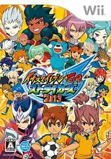 USED Nintendo Wii Inazuma Eleven Go Strikers 2013 Game Japan