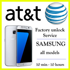 AT&T UNLOCK CODE SERVICE SAMSUNG GALAXY S2 S3 S4 S5 S6 S7 EDGE NOTE 3 4 5 ACTIVE
