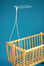 Universal Canopy Drape Holder, Rod, Pole, Bar Fits Baby Cot, Bed, Crib, Basket