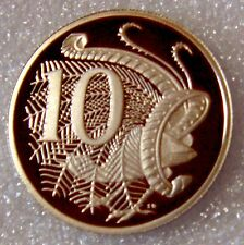 AUSTRALIA: 1995 10 CENTS PROOF - HARD DATE