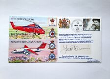 Limited Edition Signed Flown Cover - Last Royal Task The Queen's Flight, 1995