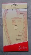 Sew Easy Curve Ruler for Knitters Sewers French Curves Buttonhole Guides Nl4196