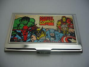 MARVEL SUPER HERO BUSINESS CARD HOLDER PERFECT CHRISTMAS GIFT