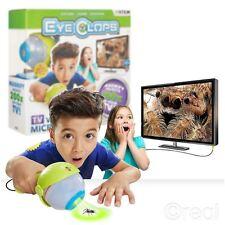 NUOVO EyeClops VIDEO MICROSCOPIO 200x Bionic Eye TV permanenti Jakks Pacific ufficiale