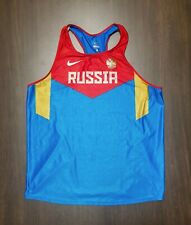 Russian Olympic National Team. T-shirt For Running, Athletics. Pro stock.