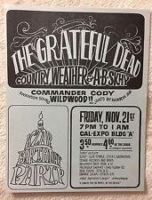 Grateful Dead~County Weather~A.B.Skhy~11/21/1969 Cal Expo Handbill