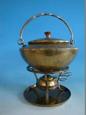 RS0916-160: Art Deco Feuerzangenbowle Messing E. Funk KG Neuruppin