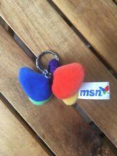 MSN Microsoft Network Plüsch Schmetterling Schlüsselanhänger *RAR*
