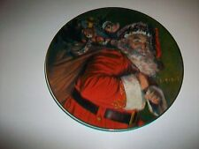 Avon 1987 Christmas Plate The Magic That Santa Brings