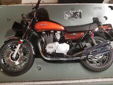 Autoart Kawasaki 900 Super Four Z1 Motorcycle Bike 1/6 Scale Black SUPER RARE