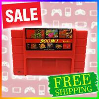 Super 900 in 1 Game 16 Bit for Nintendo SNES Multi Cart Game Cartridge NTSC-U/C