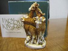 Harmony Kingdom Friends In High Places Giraffe Uk Made Box Figurine Sgn