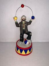 """Emmett Jelly Jr. Collection """"Be A Clown� Music Box by flambro Works!"""