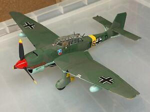 Junkers Ju.87 Stuka, 1/48, built & finished for display, good.