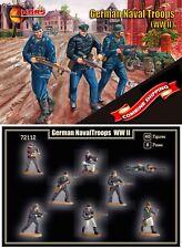 Mars Figures 72112 German Naval Troops (WWII) (40 figures / 8 poses) 1/72