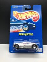 1991 / 1992 Hot Wheels BLUE CARD #208 AVUS QUATTRO 5 Spoke Wheels VHTF