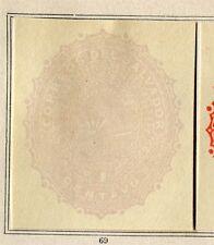 EL SALVADOR;  1891 early classic Postal stationary Piece fine Mint 1c. item