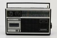 Telefunken Bajazzo CR 4000  Kassetten-Radiorekorder an Bastler Selten Radio