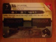 Pirates Fire & Steel #060 Splinter Pocketmodel CSG NrMint-Mint