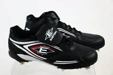 Easton Foundation Mid Cut Black White Lace-Up Baseball Sneaker Cleats 15