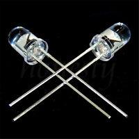 50PCS 5mm 940nm IR Infrared Launch Emission Tube Diode LED Lamp Emitting