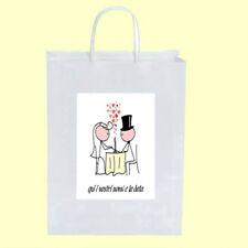 100 Wedding Bags WBB 7 matrimonio segnaposto ventagli inviti cm.18 + omaggio