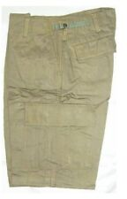 Shorts BDU Olive Green Cargo 6 Pockets Polycotton Twill Size Medium 31-35 Inch