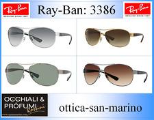 Ray Ban RB3386 ORIGINALI con Vetri intercambiabili COLORE