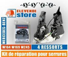 SET REPARACION DE CERRADURA Mercedes W169 W164 W245 A B Clase ML - 4 muelles