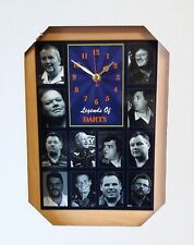 Darts Legends Wall Clock Bristow/Taylor/George/Adams/Wilson