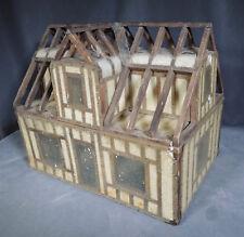 Antique Salesman Sample Framed House Construction Demonstration Model