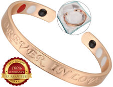 Copper Bracelet Arthritis Chronic Pain Therapy Bangle Cuff Wristband Germanium