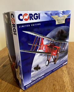 CORGI AVIATION AA37707 Royal Aircraft Factory SE5A C1149/W 'Schweinhund' 1/48