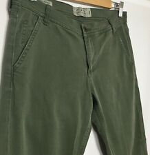 Lucky Brand Sienna Slim Boyfriend Jeans Olive Army Green Women's Size 2