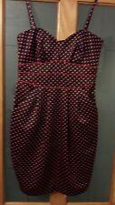 Ladies Teatro Spotty Dress, Size 10.